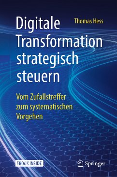 Digitale Transformation strategisch steuern (eBook, PDF) - Hess, Thomas
