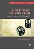 Inside European Parliament Politics (eBook, PDF)