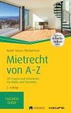 Mietrecht von A-Z (eBook, PDF)