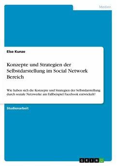 Konzepte und Strategien der Selbstdarstellung im Social Network Bereich