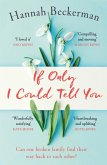 If Only I Could Tell You (eBook, ePUB)