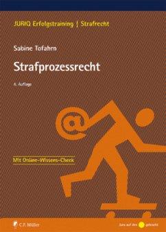Strafprozessrecht - Tofahrn, Sabine