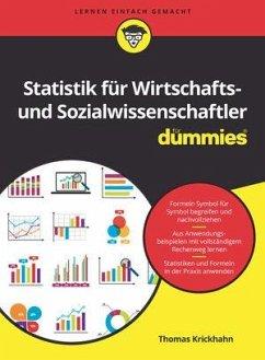 Statistik für Wirtschafts- und Sozialwissenschaftler für Dummies A2 - Krickhahn, Thomas