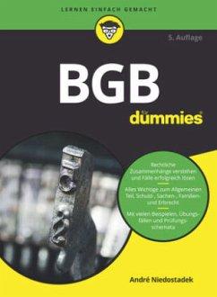 BGB für Dummies - Niedostadek, André