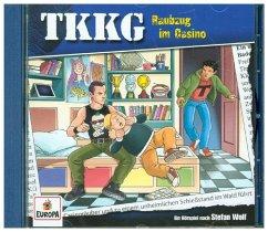 Raubzug im Casino / TKKG Bd.210 (1 Audio-CD) - Wolf, Stefan
