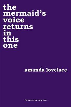 the mermaid's voice returns in this one (eBook, ePUB) - Lovelace, Amanda; Ladybookmad