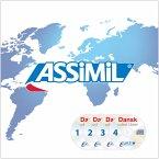 Dansk uden tarer, 4 Audio-CDs / Assimil Dänisch ohne Mühe