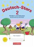 Deutsch-Stars - Allgemeine Ausgabe. 2. Schuljahr - Fördern und Inklusion