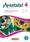 ¡Apúntate! Band 4 - Differenzierende Ausgabe - Cuaderno de ejercicios. Mit eingelegtem Förderheft und Audios online