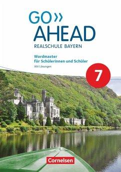 Go Ahead 7. Jahrgangsstufe - Ausgabe für Realschulen in Bayern - Wordmaster - Berwick, Gwen; Thorne, Sydney