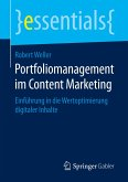 Portfoliomanagement im Content Marketing