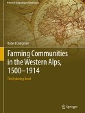 Farming Communities in the Western Alps, 1500-1914