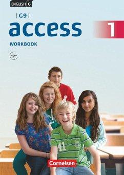 English G Access - G9 - Band 1: 5. Schuljahr - Workbook mit Audios online und MyBook - Curran, Peadar; Seidl, Jennifer