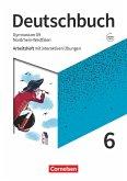 Deutschbuch Gymnasium 6. Schuljahr - Nordrhein-Westfalen - Neue Ausgabe - Arbeitsheft mit interaktiven Übungen auf scook.de