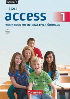 English G Access - G9 - Band 1: 5. Schuljahr - Workbook mit interaktiven Übungen auf scook.de