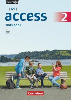 English G Access - G9 - Band 2: 6. Schuljahr - Workbook mit Audios online - Curran, Peadar; Seidl, Jennifer