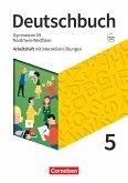 Deutschbuch Gymnasium 5. Schuljahr - Nordrhein-Westfalen - Neue Ausgabe - Arbeitsheft mit interaktiven Übungen auf scook.de