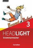 English G Headlight Band 3: 7. Schuljahr - Allgemeine Ausgabe - Grammarmaster mit Lösungen