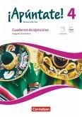 ¡Apúntate! Band 4 - Gymnasium - Cuaderno de ejercicios. Mit eingelegtem Förderheft und Audios online