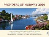 Panorama Norwegen 2020 Tischkalender