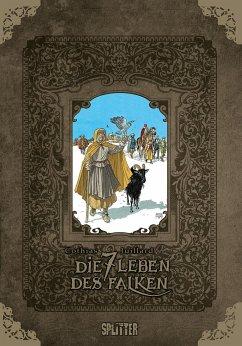 Die sieben Leben des Falken - erster Zyklus (limitierte Sonderedition) - Cothias, Patrick