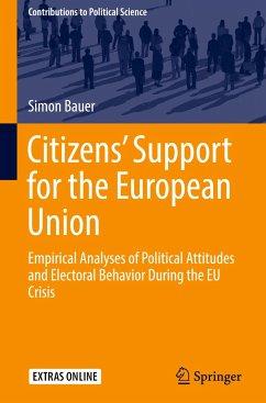 Citizens' Support for the European Union - Bauer, Simon