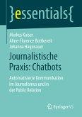 Journalistische Praxis: Chatbots (eBook, PDF)