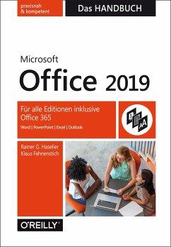 Microsoft Office 2019 - Das Handbuch (eBook, ePUB) - Haselier, Rainer G.; Fahnenstich, Klaus