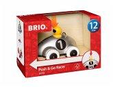 BRIO® 30232 - Push & Go Rennwagen, Silber Edition, Auto, Fahrzeug