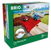 BRIO® 33819 - Auto-Spielset Stadt und Land, Eisenbahn, Schienen