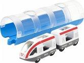 BRIO® 33890 - Tunnel Box Reisezug, ICE, Eisenbahn,
