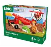 BRIO® 33963 - Safari Flugzeug, rot
