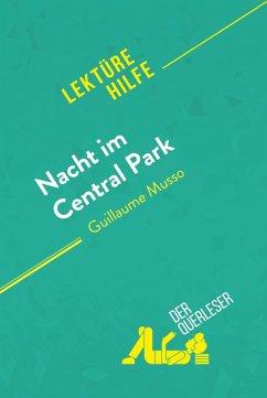 Nacht im Central Park von Guillaume Musso (Lekturehilfe)