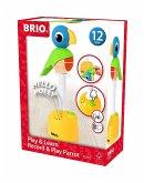 BRIO® 30262 - Musikspiel Papagei Polly, Stapelspielzeug