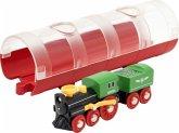 BRIO® 33892 - Tunnel Box, Dampflock, Güterzug, Eisenbahn