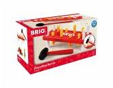BRIO® 30525 - Rote Klopfbank, Motorikspielzeug