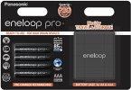 1x4 Panasonic Eneloop Pro Micro AAA 930 mAh + Akkubox