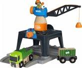BRIO® 33962 - Smart Tech Große Containerverladestation , Eisenbahn