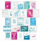 Postkarten Set