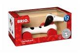 BRIO® 30404 - Nachzieh-Dalmatiner, schwarz-weiß, Hund