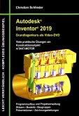 Autodesk Inventor 2019-Grundlagenkurs (Dvd)
