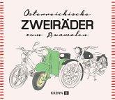 Österreichische Zweiräder zum Ausmalen