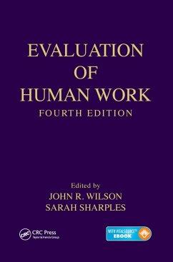 Evaluation of Human Work (eBook, PDF)
