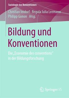 Bildung und Konventionen (eBook, PDF)