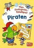 Mein Kindergarten-Rätselspaß: Piraten (Mängelexemplar)