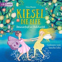 Kiesel, die Elfe - Sommerfest im Veilchental (MP3-Download) - Blazon, Nina