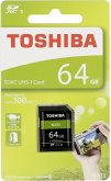 Toshiba SDXC Karte N203 64GB Exceria Ultra High Speed U1
