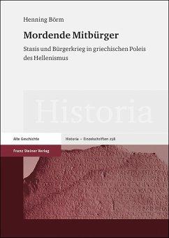 Mordende Mitbürger - Börm, Henning