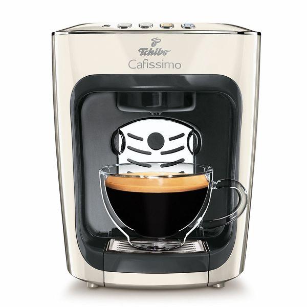 Tchibo Cafissimo Mini Kaffee Kapselmaschine Classy White