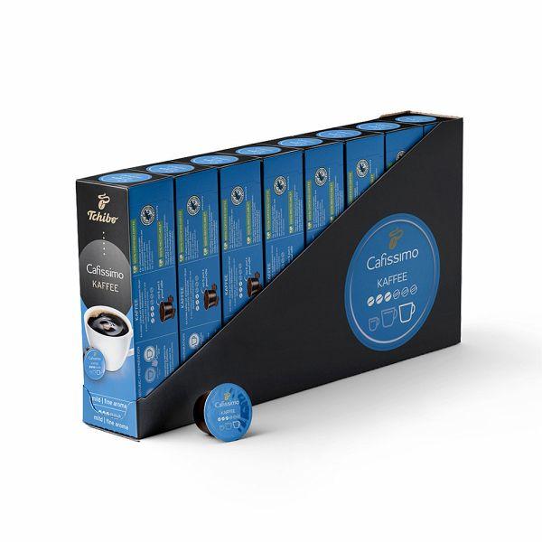 Tchibo Cafissimo Filterkaffee mild Kapseln, 80 Stück (8 x 10 Kapseln)
